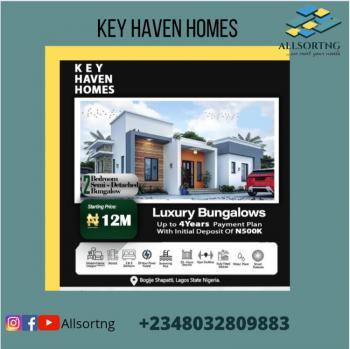 Off Plan - 2 Bedrooms Semi Detached, Key Haven Homes, Bogije, Ibeju Lekki, Lagos, Semi-detached Bungalow for Sale