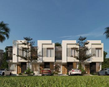 Luxury 3bedroom Terrace Duplex with Bq in a Serene Location, Abijo G.r.a, Abijo, Lekki, Lagos, Terraced Duplex for Sale