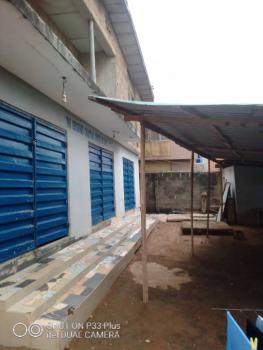 Strategic 3 Units of 3 Bedroom Flats with Big Warehouse, Off Idimu Road, Egbeda, Alimosho, Lagos, Block of Flats for Sale