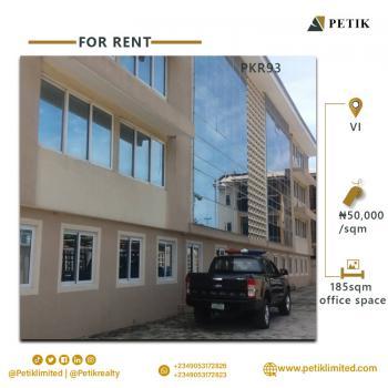 185sqm Office Space, Vi, Victoria Island (vi), Lagos, Office Space for Rent