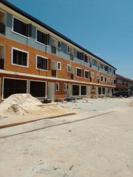 Newly Built 4 Bedroom Terrace Duplex with Spacious Rooms and Compound, Osapa, Lekki, Lagos, Terraced Duplex for Rent