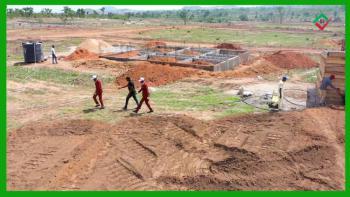Valington Estate Phase 2, Valington Estate Sharing Fence with River Park Estate Behind Dunamis, Lugbe District, Abuja, Residential Land for Sale