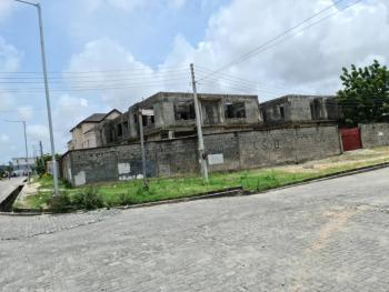 Uncompleted Houses on 1400ms Corner Piece Plot, Off Frank Kuboye Road Pinnacle Petrol Station, Lekki Phase 1, Lekki, Lagos, Semi-detached Duplex for Sale