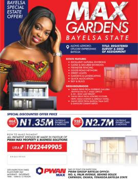 Max Gardens Estate, Yenagoa, Bayelsa, Mixed-use Land for Sale
