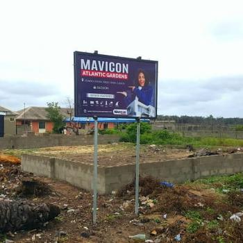 an Excellent Land in a Built Up Environment for Perfect Investment, Mavicon Atlantic Gardens Phase 1, Eleko, Ibeju Lekki, Lagos, Residential Land for Sale