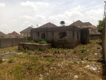 Spacious 5 Bedroom Duplex Carcass, Lokogoma District, Abuja, Detached Duplex for Sale