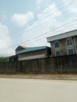 4 Units of Industrial Warehouses and Block of 6 Flats on 5000sqm Land, Oshodi - Apapa Expressway, Oshodi, Lagos, Warehouse for Sale