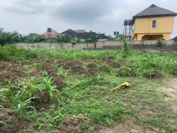 Fenced Parcel of Land (5plots), Off Port Harcourt International Airport Road, Rukpokwu, Port Harcourt, Rivers, Land for Sale