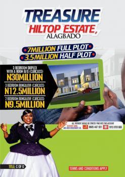 600 Sqm Land, Treasure Hilltop Estate, Alagbado, Ifako-ijaiye, Lagos, Residential Land for Sale
