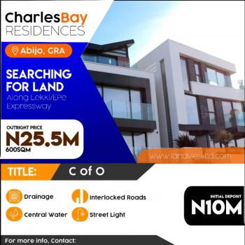 100% Dry Land with Instant Allocation, Charles Bay, Abijo, Lekki, Lagos, Residential Land for Sale