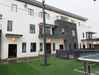 Serviced with 24hours Light New 4 Bedroom Terrace with Bq Gym & S.pool, Oniru, Victoria Island (vi), Lagos, Terraced Duplex for Sale