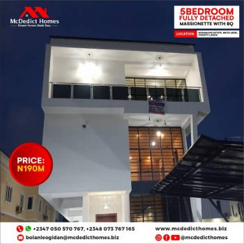 5 Bedroom Fully Detached Massionette with Boys Quater and Swimming Pool, Lekki County, Ikota, Lekki, Lagos, Detached Duplex for Sale
