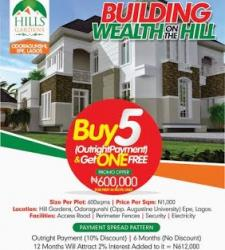 Hill Top Garden, Epe, Lagos, Residential Land for Sale