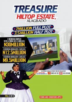 a Plot of Land, Alagbado, Ifako-ijaiye, Lagos, Residential Land for Sale