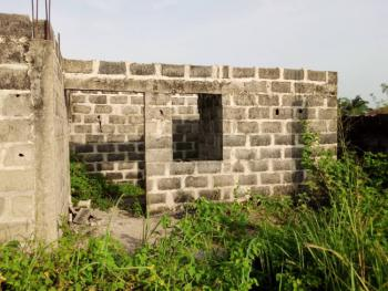 a One and Half Plot of Land with Uncompleted Building to Lintel Level, Age Mowo Badagry, Badagry, Lagos, Residential Land for Sale