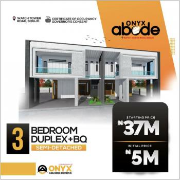 Luxury 3 Bedroom Duolex with Bq and Modern Features, Bogije, Victoria Island (vi), Lagos, Semi-detached Duplex for Sale