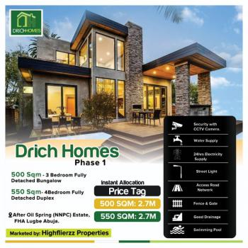 Drich Homes Phase1, Federal Housing Estate, Lugbe District, Abuja, Residential Land for Sale