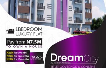 Luxury 1 Bedroom Apartments with Convenient Payment Options, By Abraham Adesanya Ajah Few Minutes From Victoria Island, Lekki Phase 2, Lekki, Lagos, Block of Flats for Sale