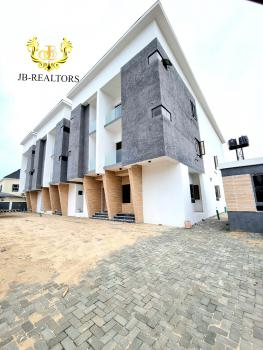 Contemporary 4 Bedroom Terrace Duplex with Fitted Kitchen  & Bq, Ikate, Lekki, Lagos, Terraced Duplex for Sale