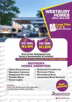 Buy and Build Dry Land in a Residential Estate, Bogije, Beachwood Estate, Sangotedo, Ajah, Lagos, Mixed-use Land for Sale
