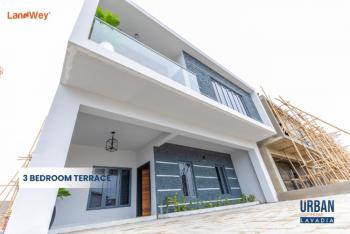 Luxury and Top Notch Three Bedroom Terrace Series One+ Bq, Abraham Adesanya, Lekki Phase 2, Lekki, Lagos, Terraced Duplex for Sale