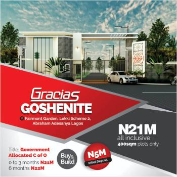 Buy and Build Dry Land, Abraham Adesanya, Off Ogombo Road, Lekki Phase 2, Lekki, Lagos, Mixed-use Land for Sale