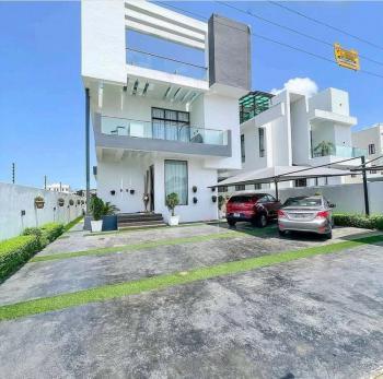 Contemporary Fully Furnished 5 Bedroom Fully Detached Duplex;, Pinnock Beach Estate, Lekki, Lagos, Detached Duplex for Sale