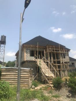 Carcass 5 Bedrooms Fully Detached Duplex with Bq, Duboyi, Abuja, Detached Duplex for Sale