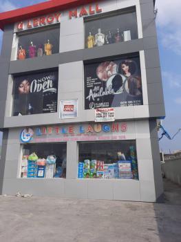Shop Facing The Express, Opposite Crown Estate, Sangotedo, Ajah, Lagos, Shop for Rent