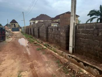 Buildable Fenced and Gated Plot of Land, Refiners Estate Off British Adorable School,new Haven Extension, Enugu, Enugu, Residential Land for Sale