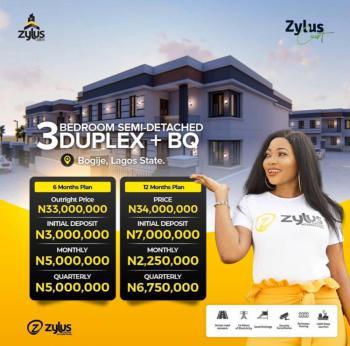 Zylus Court, Bogije, Ibeju Lekki, Lagos, Semi-detached Duplex for Sale