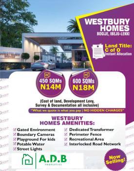 Beachwood Land, Beachwood Estate, Bogije, Ibeju Lekki, Lagos, Residential Land for Sale