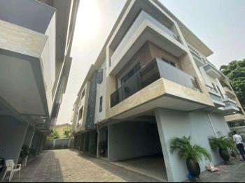 Brand New 4 Bedroom Terrace with Excellent Facilities, Off Bourdillon Road, Ikoyi, Lagos, Terraced Duplex for Rent