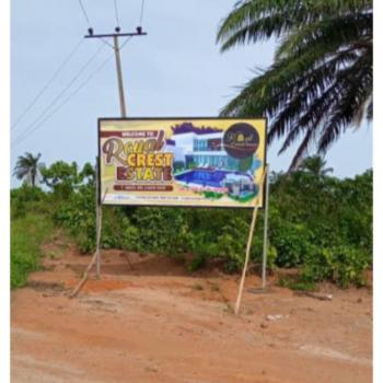 600sqm Land, Royal Crest Estate, Close to St. Augustine University, Epe, Lagos, Mixed-use Land for Sale