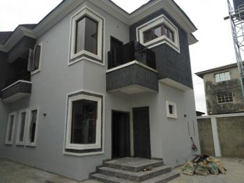 a Newly Built 4 Bedroom Duplex with a Room Bq Attached, Labak Estate, Abule Egba, Agege, Lagos, Detached Duplex for Sale