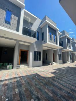 Newly Built 4 Bedroom Terrace Duplex, Agungi, Lekki, Lagos, Terraced Duplex for Sale