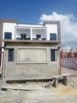 Newly Built 4 Bedrooms  Semi Detached Duplex with Bq, Chevron Alternative Road, Osapa, Lekki, Lagos, Semi-detached Duplex for Sale