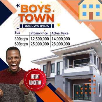 Own a Plot of Land, Boys Town, Ipaja, Lagos, Residential Land for Sale