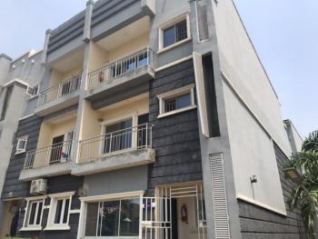 Well Built 4 Bedrooms Terrace Duplex in an Estate, By Banex Bridge Off Ahmadu Bello Way, Wuse 2, Abuja, Terraced Duplex for Rent