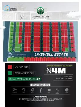 Promo Land, Livewell Estate, Ibeju Lekki, Lagos, Residential Land for Sale