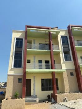 Lovely 4 Bedroom Terrace (shell Finished), Guzape District, Abuja, Terraced Duplex for Sale