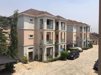 Fully Serviced & Sizeable 4 Bedroom Terrace Duplex + Bq, Off Ahmadu Bello Way Near Nextmall Junction, Katampe (main), Katampe, Abuja, Terraced Duplex for Sale