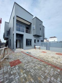 5 Bedroom Semi Detached Duplex with Private Compound, Beside Pinnock Beach Estate, Osapa, Lekki, Lagos, Semi-detached Duplex for Rent
