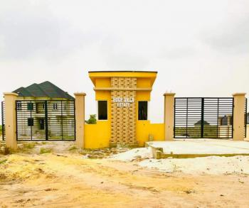 Available Plots of Land in a Well Develop and Secured Estate  100% Dry, Behind Amen Estate Phase 1, Eleko, Ibeju Lekki, Lagos, Residential Land for Sale