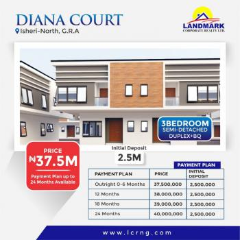 4 Bedroom Detached Duplex, By Channel Tv and Compass, Gra, Isheri North, Lagos, Detached Duplex for Sale