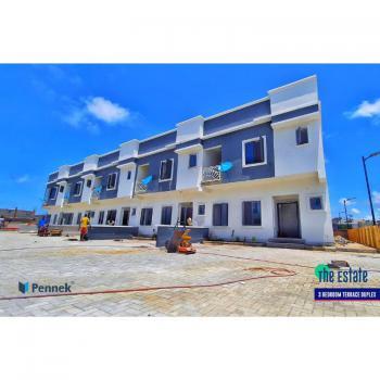 Exquisite 4 Bedrooms Terraced Duplex with 18 Months Payment Plan, Lekki Scheme 2, Ogombo, Ajah, Lagos, Terraced Duplex for Sale