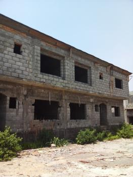 Carcass 4 Bedrooms Semi Detached Duplex with a Room Boys Quarter, Kafe, Abuja, Semi-detached Duplex for Sale
