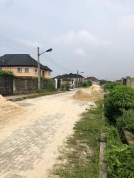 930 Sqms Fully Fenced and Gated with a Building Approval for 2 Units of Duplex, Lekki Scheme 2, Off Ogombo Road, By Abraham Adesanya, Ajah, Lagos, Residential Land for Sale