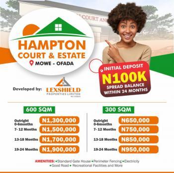Luxury Land, Hampton Court and Estate, Mowe Ofada, Ogun, Residential Land for Sale