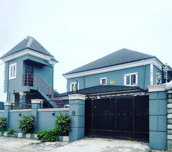 Newly Built Executive 5 Bedroom Duplex with Federal Light Pop Ceiling, Shell Co-operative Estate Off G U Akeh Road, Eliozu, Port Harcourt, Rivers, Semi-detached Duplex for Rent